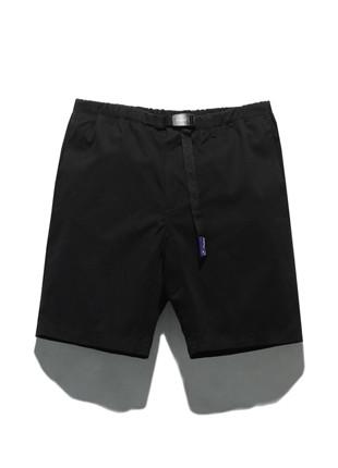 福禄克11英寸长款皮条/束带短裤FSP017C101(BLACK)