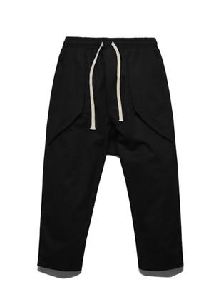 FROMATOB A到B捆扎宽松的裤子 -  TOB17JP501BK