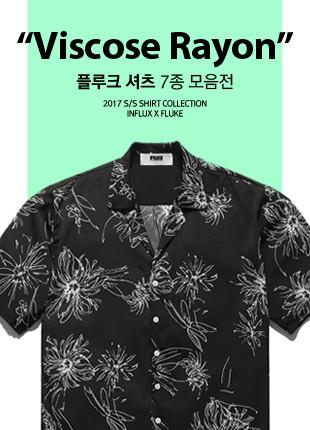 福禄克粘胶人造丝衬衫7种moeumjeon的