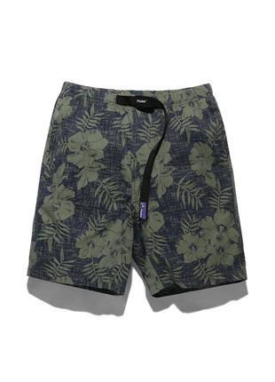 福禄克11英寸长款皮条/束带棕榈短裤FSP017C102(2color)