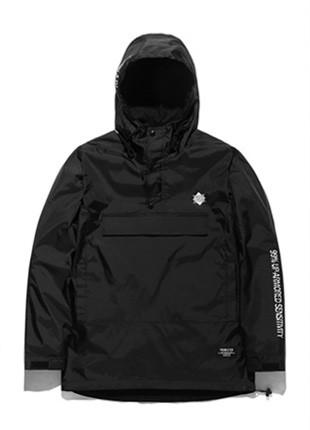 FROMATOB优质标志插图滑雪衫外套 -  BWB017C001BK