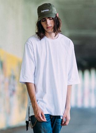 福禄克标准宽松款yeopteuim短袖Ť恤衫FOT017C002