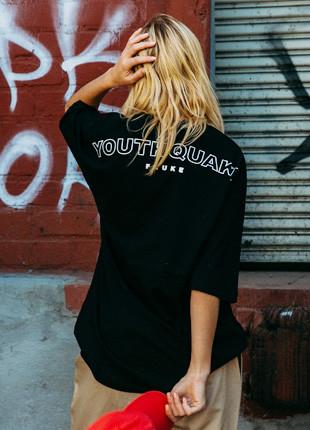 福禄克青年地震拱形标志宽松款5件短袖Ť恤衫FOT017C505