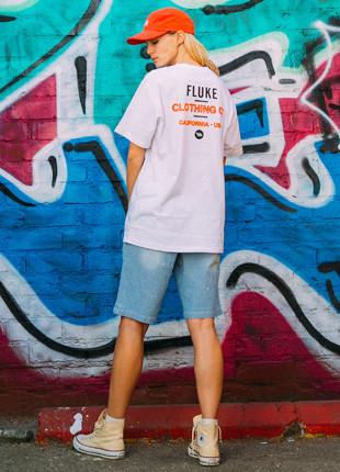 加州福禄克艺术品短袖Ť恤衫FST017C123
