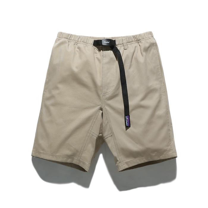 福禄克11英寸长款皮条/束带短裤FSP017C101