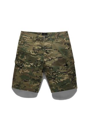 舞会这TUBI军用迷彩Plage的短短裤TOB17SP501CM