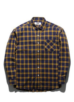 福禄克格子衬衫FLS017Z304