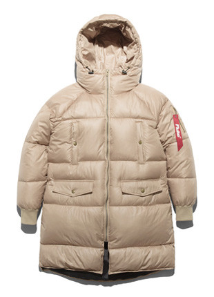 福禄克滑雪长款羽绒服FPJ017C003
