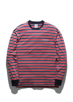 福禄克国际长款长袖T恤衫FLT018C301