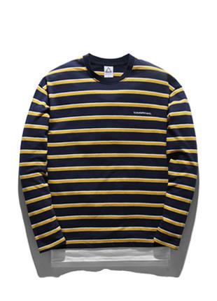 福禄克国际分层长款长袖T恤衫FLT018C302