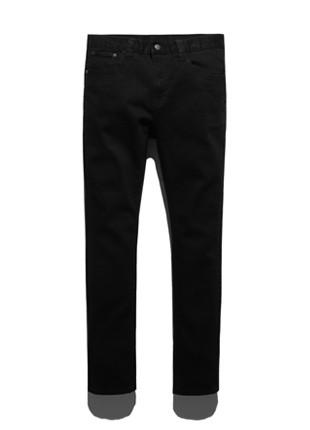 福禄克烟熏黑紧身牛仔裤FDP018C101