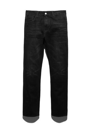 福禄克费尔法克斯黑水洗牛仔裤FDP018C103