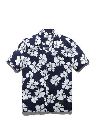 福禄花粘胶人造丝衬衫FLS017C006