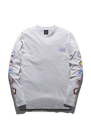 舞会这TUBI浏览器企业长款长袖T恤衫TOB18LT001