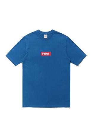 福禄克盒标志短袖Ť恤衫FST017C103