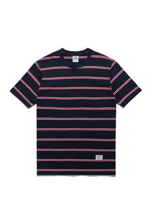 福禄克彩虹条纹短袖Ť恤衫FST017C124