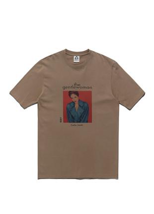 福禄克温柔的女人艺术品短袖Ť恤衫FST017Z104